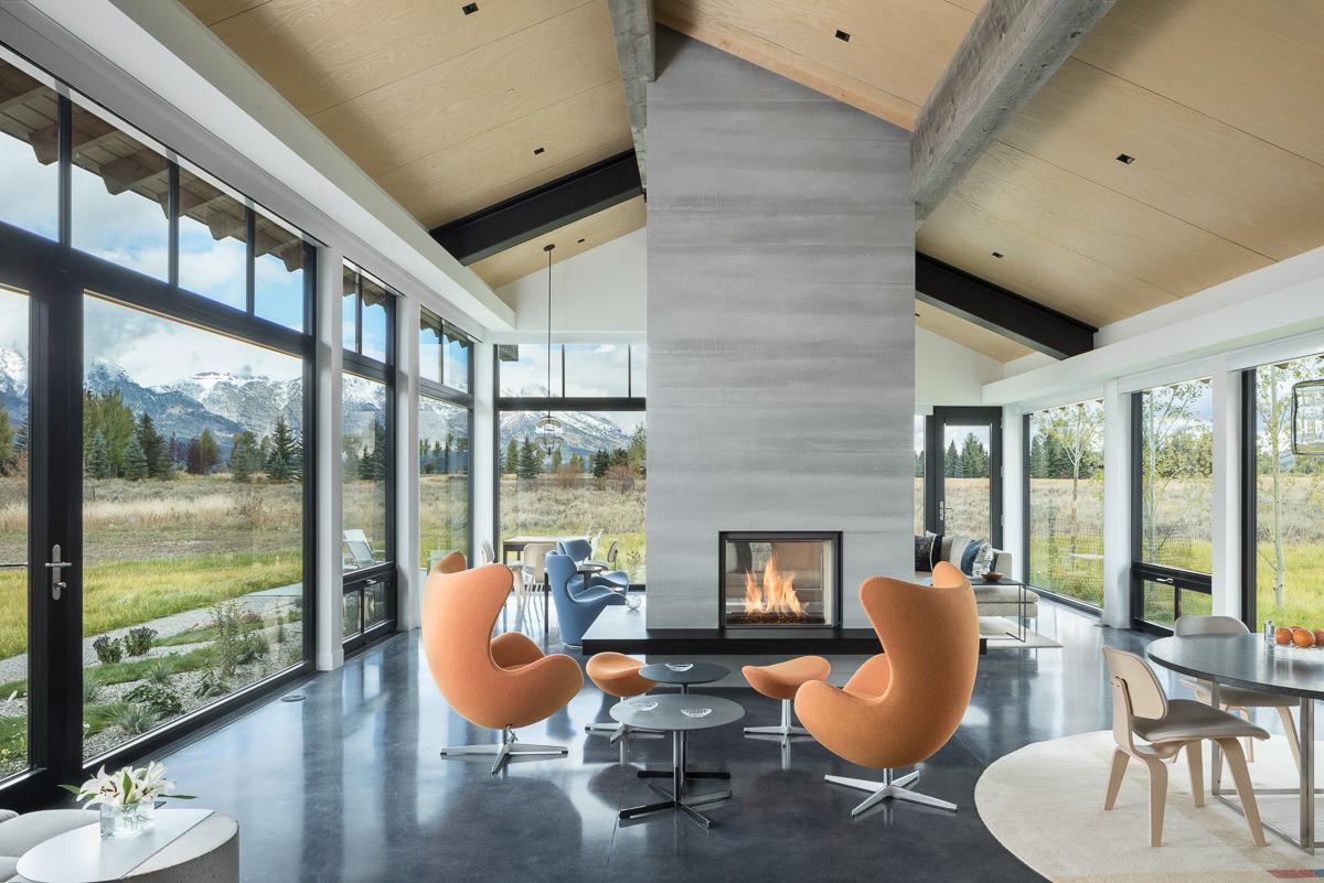 Interior Spaces Jackson Hole Architectural And Editorial Photographer Krafty Photos